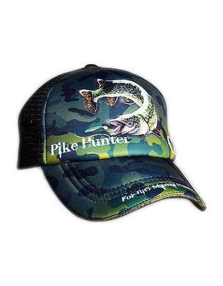 Cap CRAZY FISH Pike Hunter Camo (kid size)