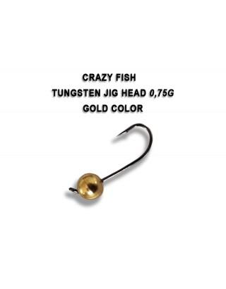 JIG HEAD 0,75g gold