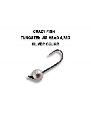 JIG HEAD 0,75g silver